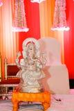Ganesha,阁下ganesha古铜雕象阁下 免版税库存照片