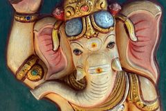 Ganesha στο ναό Kortumalai Sri Ganeshar, Κουάλα Λουμπούρ, Μαλαισία στοκ φωτογραφία με δικαίωμα ελεύθερης χρήσης