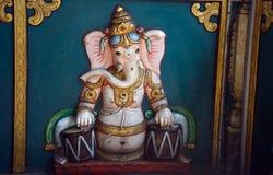 Ganesha στο ναό Kortumalai Sri Ganeshar, Κουάλα Λουμπούρ, Μαλαισία στοκ φωτογραφίες με δικαίωμα ελεύθερης χρήσης