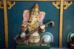 Ganesha στο ναό Kortumalai Sri Ganeshar, Κουάλα Λουμπούρ, Μαλαισία στοκ εικόνες