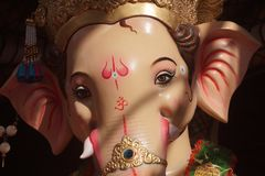 Ganesha Λόρδου πριν από το ταξίδι Visarjan του στοκ φωτογραφίες με δικαίωμα ελεύθερης χρήσης