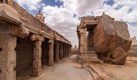 Ganesha высекая на Lepakshi Стоковое фото RF