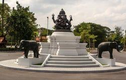 Ganesha, индусские божества уважается для много людей различных национальностей стоковая фотография rf