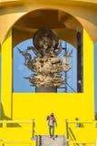Ganesha как статуя в виске Стоковое Изображение