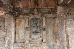 Ganesha, сын Shiva, на виске Chennakeshava в Belur, Индия стоковые фото