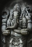 Ganesha. A statue of Ganesha, one of the Hindu Gods, carved in the style of Javanese art Stock Photography