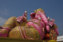 Ganesha. Is one of the religious body Thep Wed Ram precision appropriate to the worship Royalty Free Stock Photography