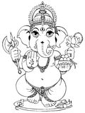 Ganesha Stock Foto's