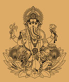 ganesha royalty illustrazione gratis
