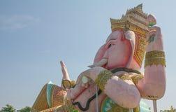 Ganesha beside Royaltyfri Bild