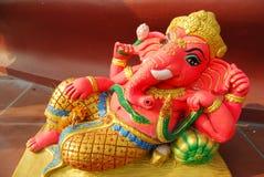 Ganesha act. Royalty Free Stock Images