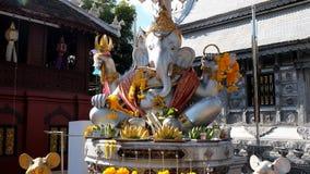 Ganesha argenté Image stock