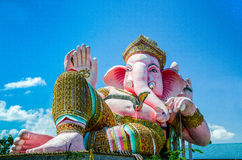 Ganesha is avatar. For believe hindu people royalty free stock photography