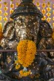 Ganesha bóg mądrości statua zdjęcia stock
