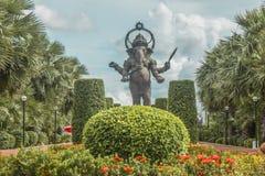 Ganesha. Big Ganesha god of success in Thailand stock photo