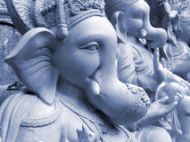 Ganesha blu Fotografia Stock