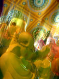 Ganesha Blurs. A beautiful blurred effect picture of lord ganesha Royalty Free Stock Photos