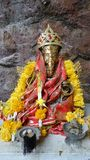 Ganesha in the cave temple Royalty Free Stock Photo