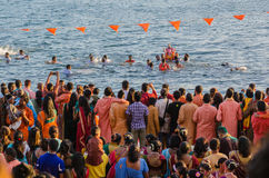 Ganesha Celebrations in Baie du Cap, Mauritius Stock Image