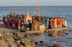 Ganesha Celebrations in Baie du Cap, Mauritius Royalty Free Stock Photos