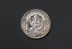 Ganesha coin Stock Photos