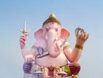 Ganesha cor-de-rosa grande imagens de stock