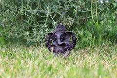 Ganesha de la piedra Ídolo de Ganesha Fotografía de archivo libre de regalías