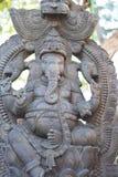 Ganesha de pierre Photographie stock libre de droits
