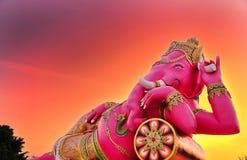 Ganesha delle religioni indù fotografia stock