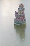 Ganesha, deus hindu e o deus do sucesso foto de stock