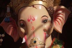 Ganesha di signore prima del suo viaggio di Visarjan fotografie stock libere da diritti