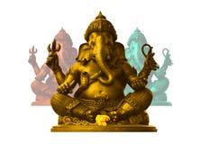 Ganesha, dios de hindú Imagen de archivo libre de regalías