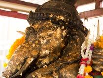 Ganesha Elephant God Statue Stock Image