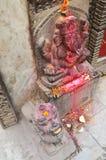 Ganesha eller Ganesh på Thamel Katmandu Nepal Arkivbild