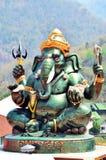 Ganesha eller Ganesh på Wat Khanon Nang Yai i Ratcha Buri Thailand royaltyfria foton