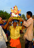 Ganesha-Festival Indien Stockfotos