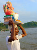 Ganesha-Festival Indien Stockfotografie