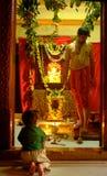 Ganesha-Festival Indien Stockbild