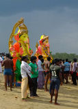 Ganesha-Festival Indien Lizenzfreie Stockfotos