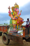 Ganesha-Festival Indien Lizenzfreies Stockfoto
