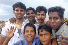 Ganesha festival Indien Fotografering för Bildbyråer