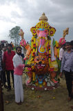 Ganesha-Festival Indien Lizenzfreie Stockbilder