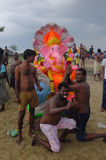 Ganesha-Festival Indien Lizenzfreie Stockfotografie