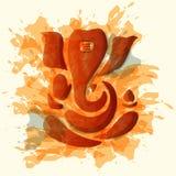 Ganesha or Ganesh stylized Stock Photos