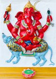 Ganesha is the god of India Royalty Free Stock Image