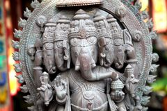 Ganesha-God of luck royalty free stock photos