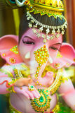 Ganesha god of success. Chachoengsao, Thailand - October 20, 2016: Large Ganesha, Hindu God in Thailand, Son of Shiva God, Wat Saman Temple stock photography