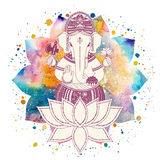 Ganesha god vector Stock Photos