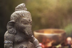 Ganesha-Gottheit Lizenzfreie Stockbilder