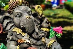 Ganesha ha fatto della pietra in Tailandia Fotografie Stock Libere da Diritti